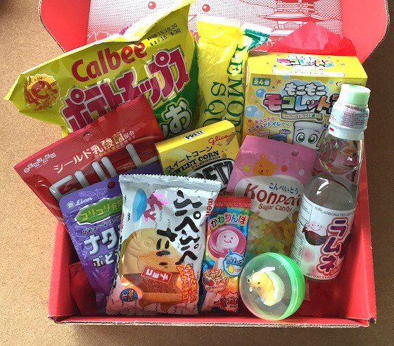 Japan Crate Subscription Box Review September 2015 - Contents