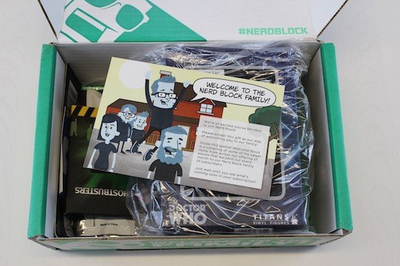 Nerd Block Welcome Box Review + Coupon - inside
