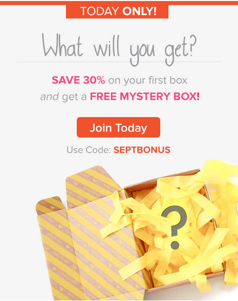 Citrus Lane Mystery Box offer!