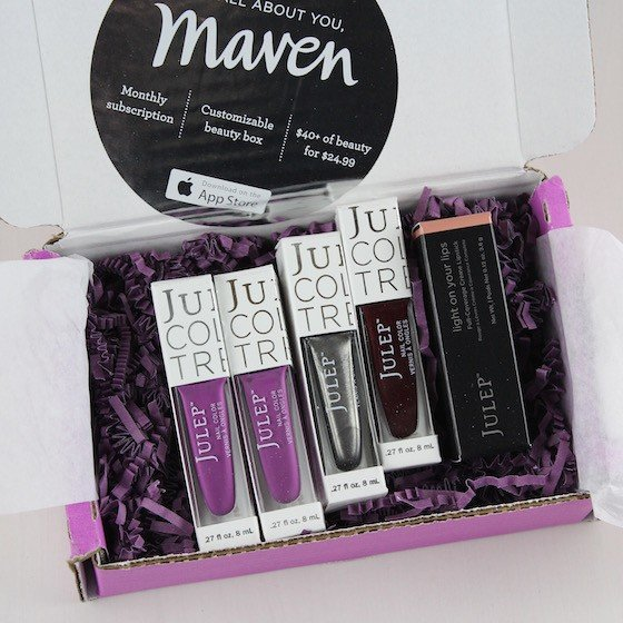 Julep Maven Review & Free Box Code – September 2015 Items