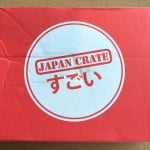 Japan Crate Subscription Box Review October 2015 - Box