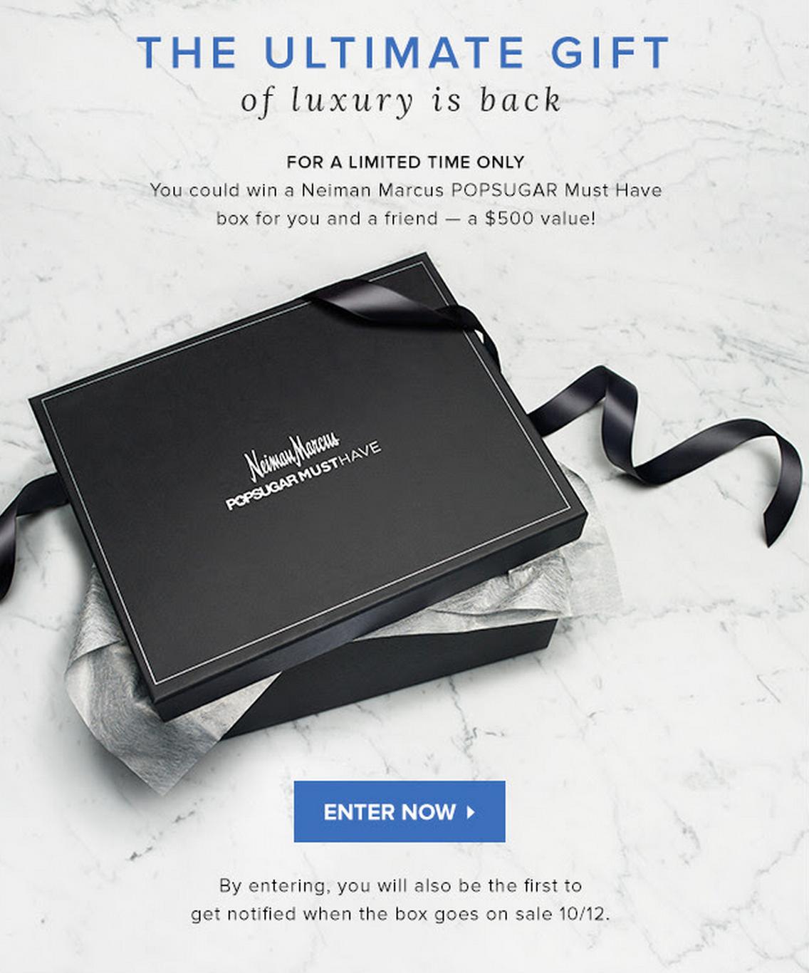 POPSUGAR Must Have Neiman Marcus Box