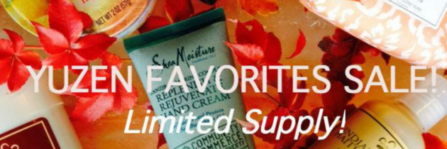 Yuzen Fall Favorites Box Sale!