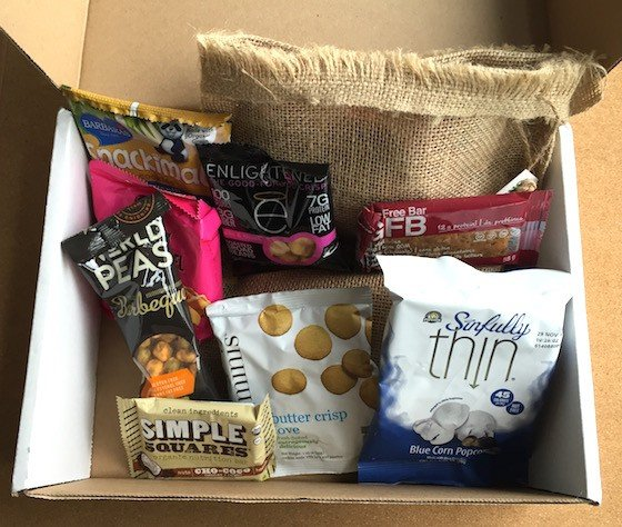 Snack Sack Subscription Box Review September 2015 - Contents