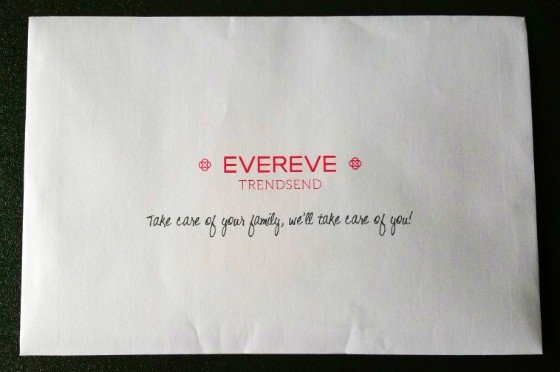 Trensend by Evereve Subscription Box Review October 2015 - info 1