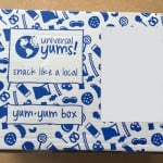 Universal Yums Subscription Box Review – September 2015