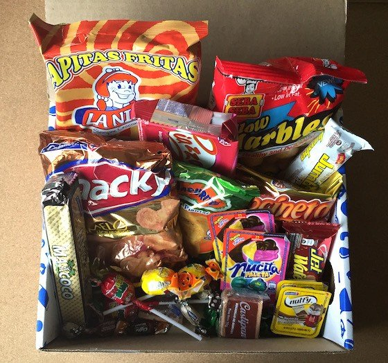 Universal Yums Subscription Box Review September 2015 - Contents
