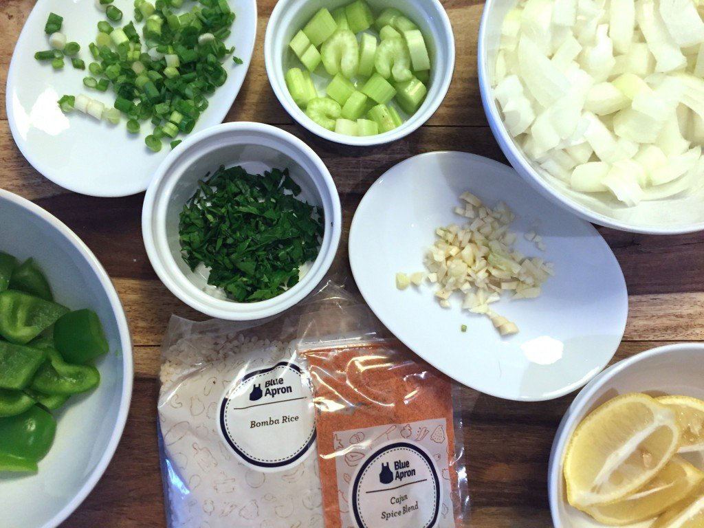 Blue Apron Subscription Box Review October 2015 - PerlooIngredients