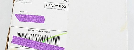 Candy Box Subscription Box Review – October 2015