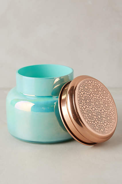 Capri Blue Iridescent Jar Candle