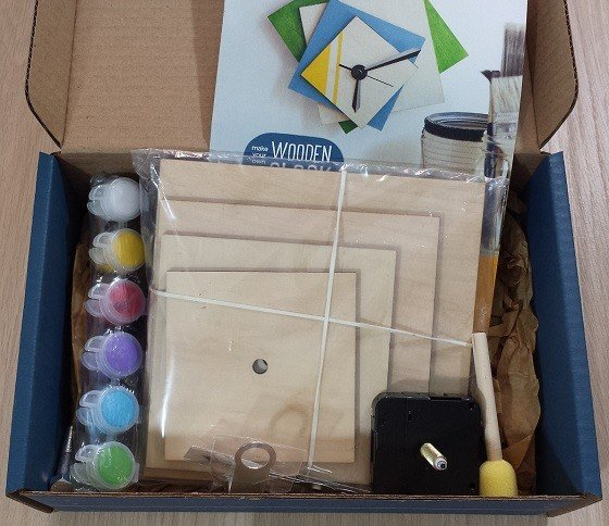 Doodle Crate Subscription Box Review + Coupon October 2015 - inside
