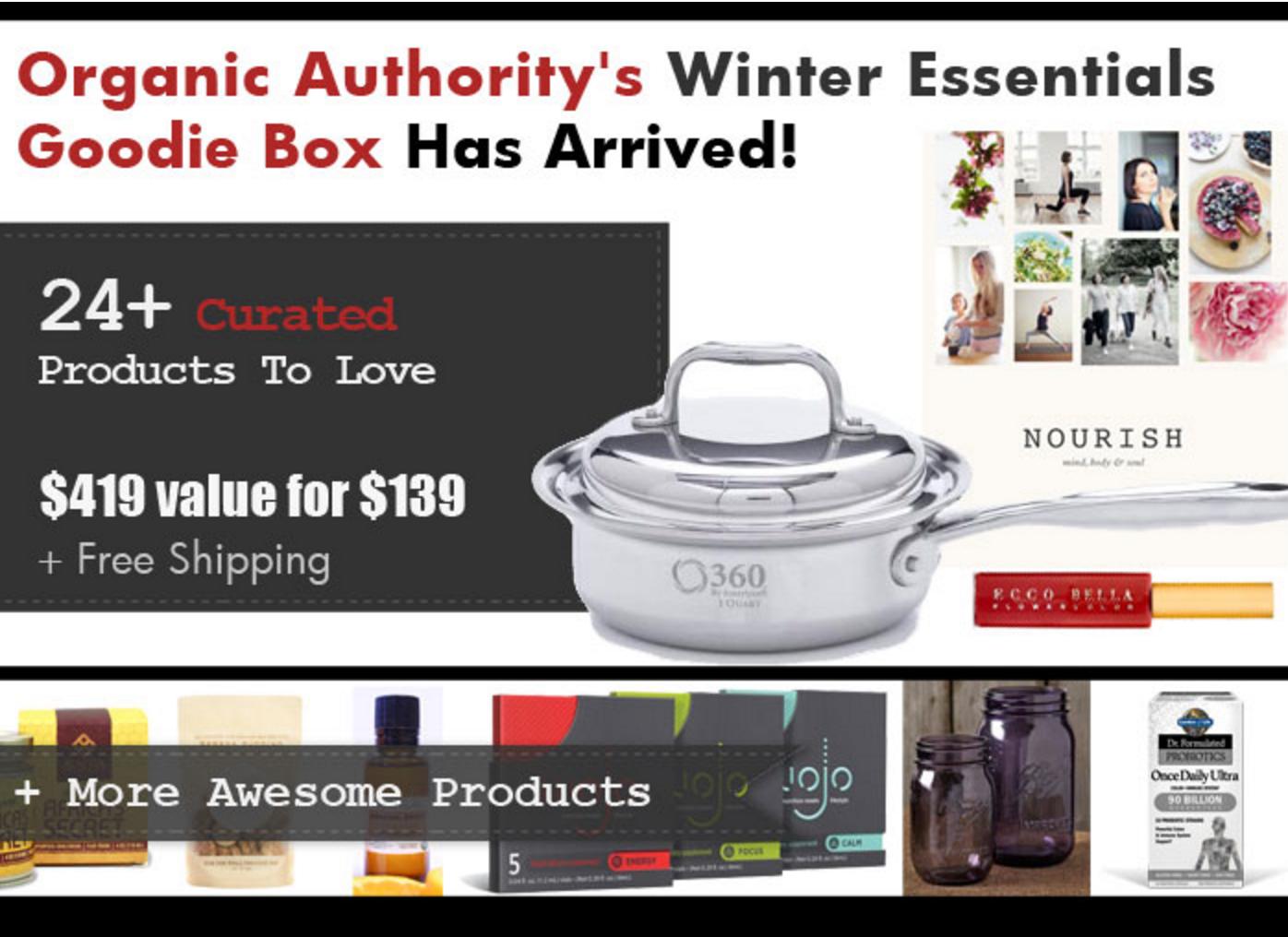 Organic Authority Goodie Box