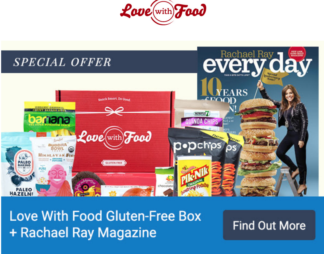 Love with Food Gluten Free Gift