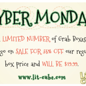 Lit Cube Cyber Monday Holiday Grab Bags + Dec Box Spoiler