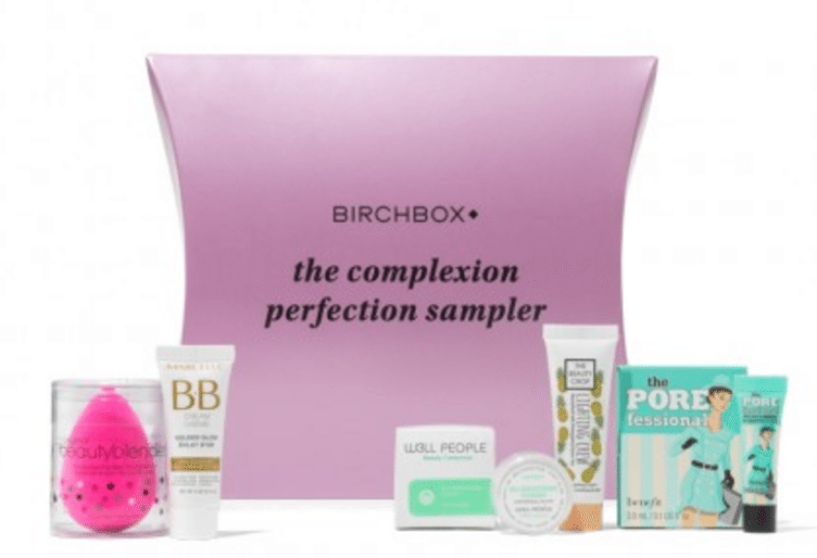 New Birchbox The Complexion Perfection Sampler + Coupon!