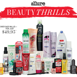 Allure Beauty Thrills Winter 2015 Box – Launches at Noon ET!