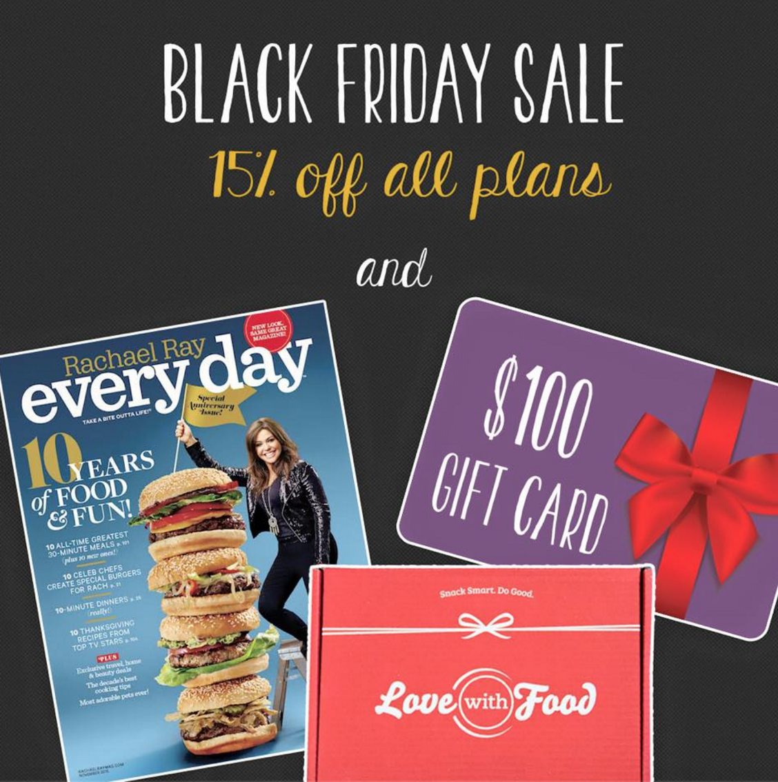 Love with Food Black Friday Sale!