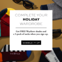 Five Four Club Thanksgiving Sale – 5 Free Pairs of Socks + Sunglasses