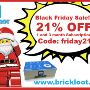 Brick Loot Black Friday Sale – 21% Off + Mystery Boxes!