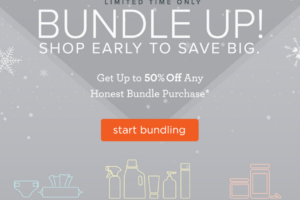 Honest Company Deal Extended!  50% Off First Bundle!