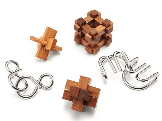 Great Minds Puzzles - Set of 5