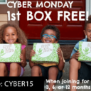 Green Kid Crafts Cyber Monday Sale – First Box Free!