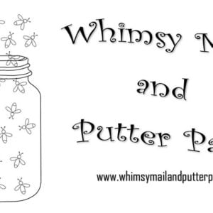 Whimsy Mail & Putter Pails Black Friday Deal – 50% off first month!