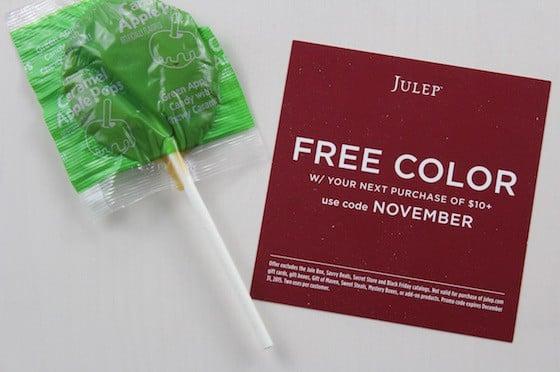 Julep Maven Review & Free Box Code – November 2015 Free Color