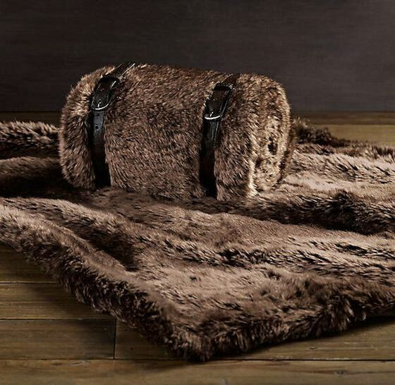 Luxe Faux Fur Pet Throw