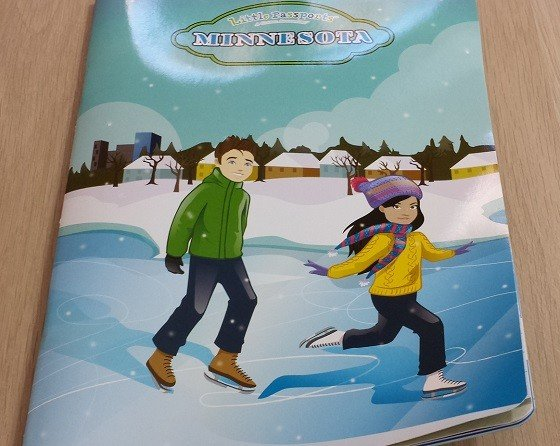 Little Passports USA Subscription Box Review November 2015 - activity-book