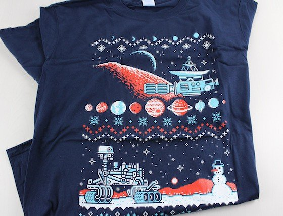Loot Crate Subscription Box Review & Coupon December 2015 - shirt