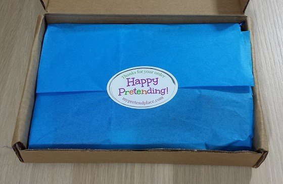 My Pretend Place Subscription Box Review November 2015 - inside