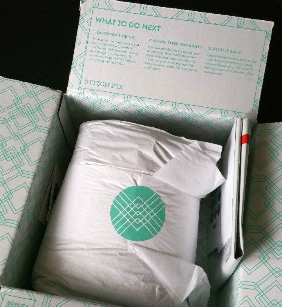 Stitch Fix Review December 2015 - packaging