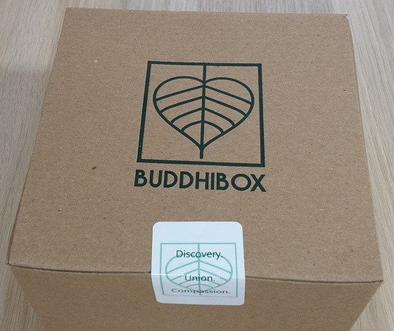 BuddhiBox Subscription Box Review December 2015 - box