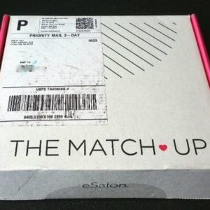 eSalon The Match Up Box Review + 50% Off Coupon – January 2016