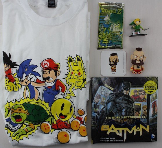 Geek Me Box Subscription Review January 2016 - all items