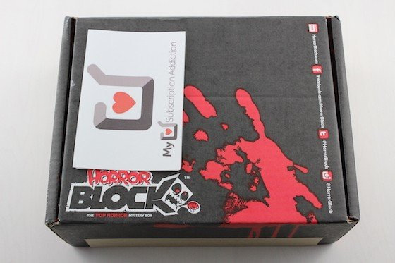 Horror Block Subscription Box Review + Coupon December 2015 - box