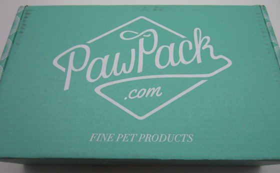 Paw Pack Subscription Box Review + Coupon December 2015 - box