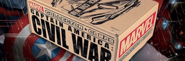 Marvel Collector Corps April 2016 Box FULL SPOILERS!