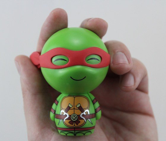 TMNT Box Subscription Box Review February 2016 - Dorbz close up