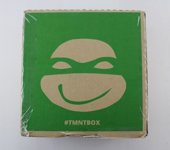 TMNT Box Subscription Box Review February 2016 - box