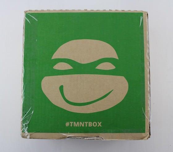 TMNT Box Subscription Box Review February 2016 - box