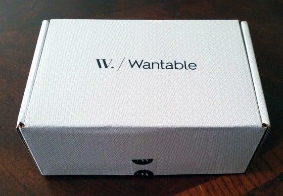 WANTABLE MAKEUP FEB 2016 - BOX