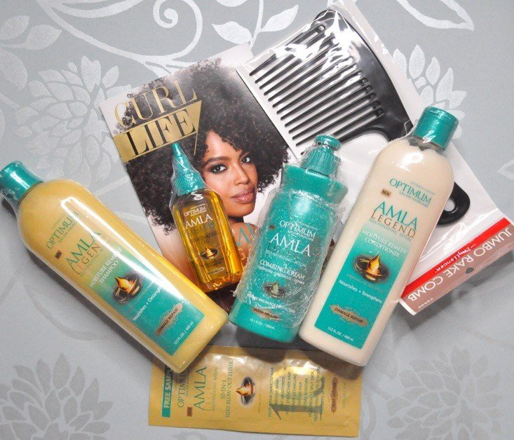 Curlkit subscription box review.