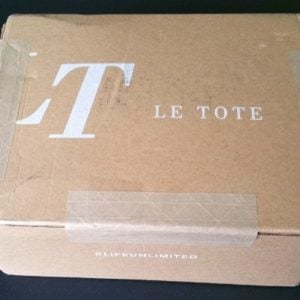 Le Tote Subscription Box Review + Coupon – February 2016