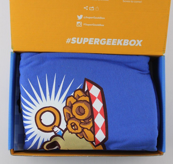 Super Geek Box Subscription Box Review March 2016 - inside