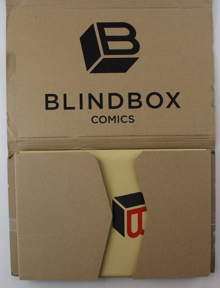 Blindbox Comics Subscription Box Review + Coupon April 2016 - inside