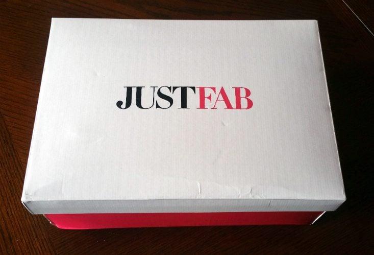JUSTFAB APRIL 2016 - BOX