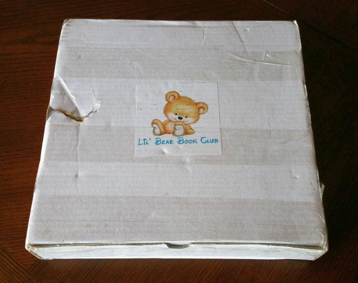 LIL BEAR BOOKCLUB APRIL 16 - BOX