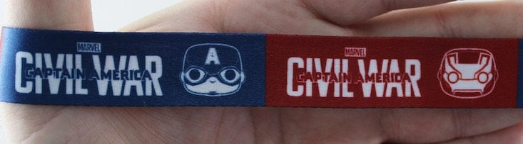 Marvel Collector Corps Subscription Box Review April 2016 - lanyard